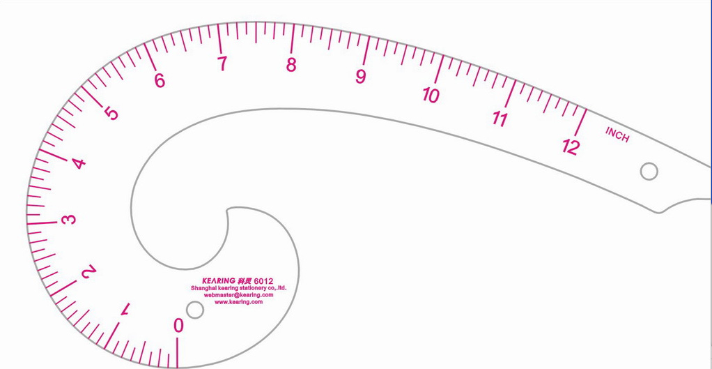image regarding Printable French Curve called French Curves