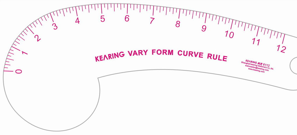 French Curves for Patternmaking & Draping