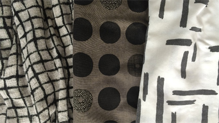Create images -- one or enough to repeat -- and make your own printed fabric.
