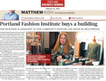 Portland Business Journal: PFI buys new building, boosts local apparel industry